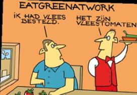 EatGreen: één keer per week geen vlees en vis