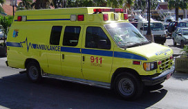 Horecastagiaire dood na aanrijding ambulance