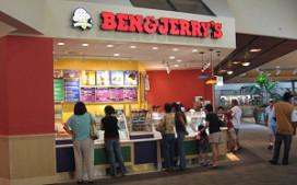 Gratis ijs op fandag Ben&Jerry's