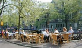 Amsterdams terras verlost van strenge controles