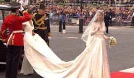 Goring Hotel laat bruidsjurk-ontwerpster binnenglippen