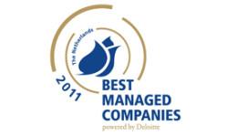Fletcher wint 'Best Managed Company Nederland 2011