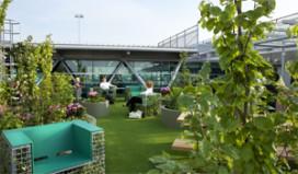 Park Café in nieuw 'stadspark' op Schiphol