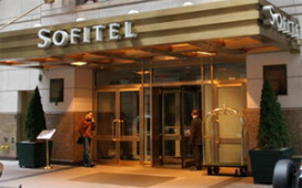 Business as usual' in Sofitel New York