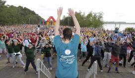 Center Parcs breekt record met grootste sportles