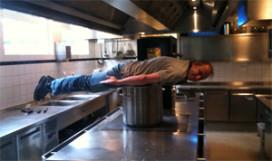 Sterzaak Apicius doet aan 'planking