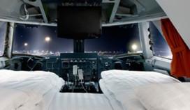 25 hotelkamers in Boeing 747