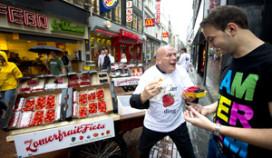 Pierre Wind verleidt fastfoodklanten met zomerfruit