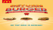 Top drie favoriete McDonald's burgers bekend