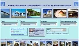 Website voor reizende roker