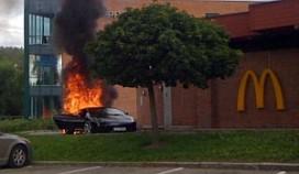 Testrit met Lamborghini door McDrive: auto ontploft