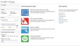 Google start met Hotel Finder