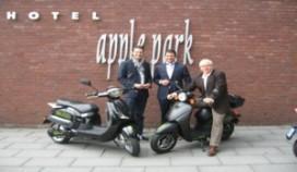 Geluidloze scooter bij Golden Tulip Apple Park Maastricht