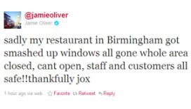 Britse reljeugd slaat restaurant Jamie Oliver kort en klein