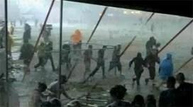 Drama op popfestival door noodweer