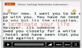 Bizarre doodsbedreiging voor Friese ondernemers