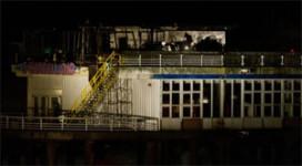 Kortstondige brand op Pier Scheveningen