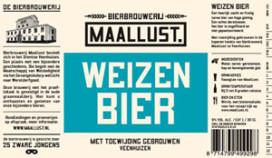 Weizenbier Maallust heeft beste etiket