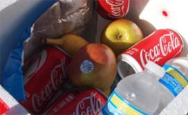 Koelbox zit foodomzet in pretparken in de weg