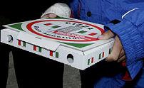 Proef met pizzakoerier zonder contant geld