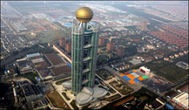 Megahotel in rijkste dorp China