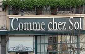 Grote veiling wijnen van Comme chez Soi