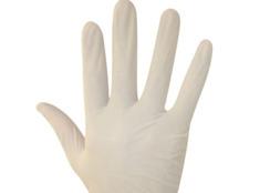 Gebruik geen latex-handschoenen