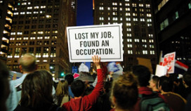 Faillissement dreigt door Occupy-protest