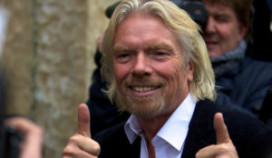 Taat & de Regt serveert 'Galactic Lunch' voor Sir Richard Branson.