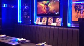 Maker videogames opent restaurant