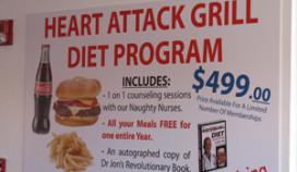 Hartaanval bij Heart Attack Grill