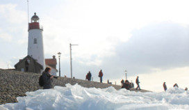 Topzaterdag voor Urker horeca door kruiend ijs