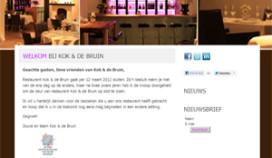 JRE-restaurant Kok & De Bruin sluit deuren