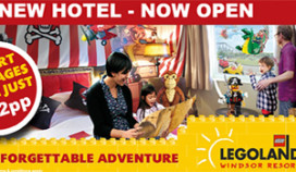 Legoland Hotel opent in Engeland