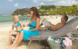 Schouwenburg weg bij Blue Bay Resort Curaçao