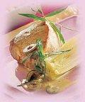 Kalkoen gevuld met kastanje en rijst