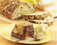 Bread & butter pudding van paasbrood