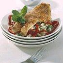 Gegrilde roodbaarsfilet met kruidige couscous