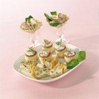 Mini pasteibakjes met garnalenragout
