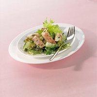 Salade van gemarineerde paling