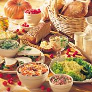 Volop combineren met salades en brood