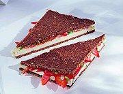 Roggebrood-sandwich met gorgonzola