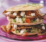 Pita-clubsandwich