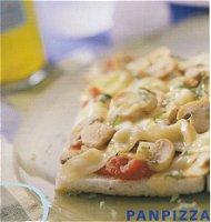 Panpizza met champignons
