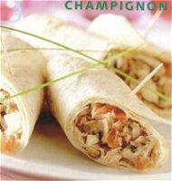 Champignonwraps