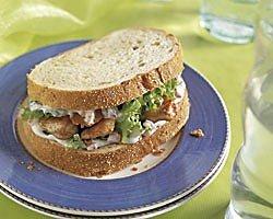 Engelse kipsandwich