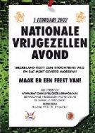 Doe mee met de nationale vrijgezellenavond