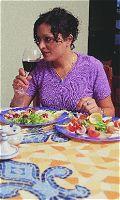 Gastvrouw tussen twee culturen