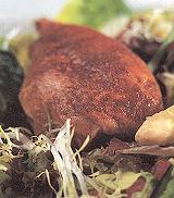 Maaltijdsalade met asperges en kalkoenbout