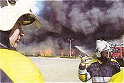 Inferno verwoest de Bonte Wever